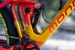 Bike Check: PMX Racing Team's Custom Olympic Mondraker Bikes