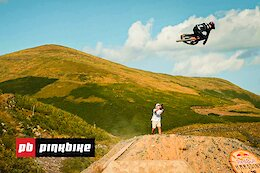 Video: The Unofficial First Hits At Red Bull Hardline 2021