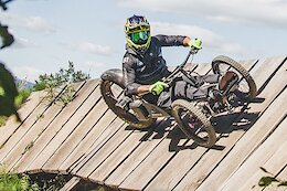 Video: Following 2021 Adaptive MTB Canadian National Champion Cole Bernier on a Hot Lap of the Race Course