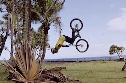 Video: Picturesque Trials Riding on Reunion Island