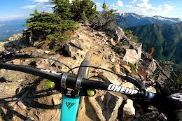 Video: Remy Metailler Rides Exposed Alpine Trails at Kicking Horse