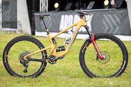 Bike Check: Mark Scott's Santa Cruz Bronson from Ard Rock 2021