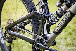 Spotted: Stanton's Titanium & Carbon Switch9er FS Enduro Bike from Ard Rock 2021