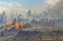 Kamloops Bike Community Mourns The Farm, a Treasured Riding Spot & Home Burned in Wildfire