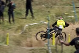 Video: Another Wild Crash & Save Compilation from the Italian DH Series