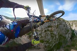 Video: A Spin Through the French Alps & Some Unusual Stunts with Aurelien Fontenoy