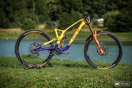 Bike Check: Martin Maes' DH-Configured GT Force - Maribor World Cup DH 2021