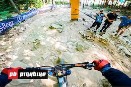 Video: Ben Cathro's POV Preview of the Fast & Loose Maribor World Cup Course