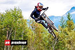 Video: First Hits On The Massive Freeride Course at Dark Horse