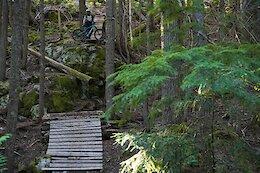 Video: Freeride Hucks in the Whistler Bike Park & Sea to Sky