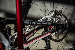 More Downhill Bikes & Bits From Val di Sole World Championships 2021