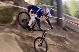 Video: Brook MacDonald & Loic Bruni's Big Crashes from the Val di Sole DH World Championships