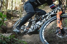 Spotted: Orbea Riders Are on a New Rallon Frame at the Loudenville EWS