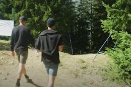 Video: Track Walk with the Santa Cruz Syndicate - Lenzerheide World Cup DH 2021