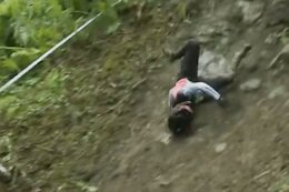Andreane Lanthier Nadeau Withdraws from EWS Loudenvielle After Hit to the Head in Practice