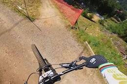 Video: Reece Wilson's POV Course Preview of the Lenzerheide World Cup DH Track