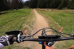 Video: Jesse Melamed's 2nd Place Pro Stage POV from EWS Crans-Montana 2021