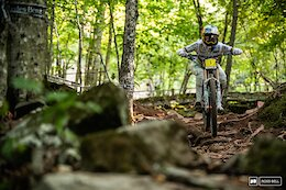 Video: Practice & Track Analysis with Eliot Jackson - Snowshoe World Cup DH 2021