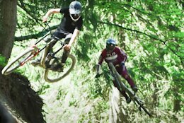 Video: Dream Days in the Chatel Bikepark with Brendan Fairclough & Mateo Verdier