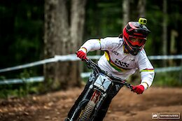 Qualifying Results from the Snowshoe World Cup DH #2 2021