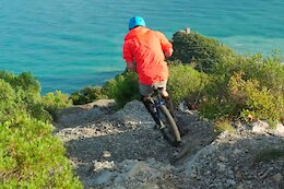 Video: Unicycling on the Steep & Technical Trails of Finale Ligure
