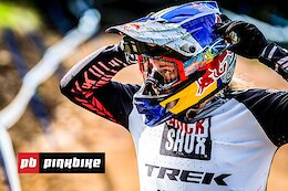 Video: The Dramatic Season End at the Snowshoe World Cup DH Race 2