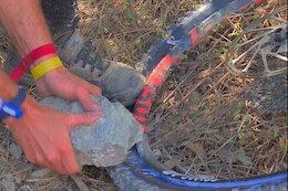 Video: Jack Moir's Trailside Wheel Repair from the Finale Ligure EWS