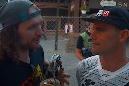 Video: Wyn TV from Snowshoe DH World Cup Race 2 2021