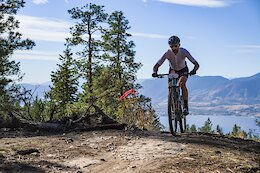 Race Report: Andrew L'Esperance & Laurie Arseneault Throw Down & Win - Day 1 of the 2021 BC Bike Race