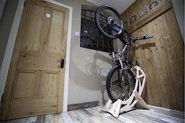 BikeStow Up Allows for Freestanding, Vertical Bike Storage