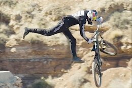 Video: Brandon Semenuk Tailwhips a Huge Drop at Rampage [Updated with Slow Mo Clip]