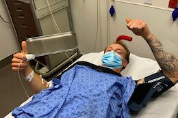 Tom Van Steenbergen Broke Hip Sockets Into Multiple Pieces, Femur, Lower Vertebrae & Shoulder in Red Bull Rampage Crash