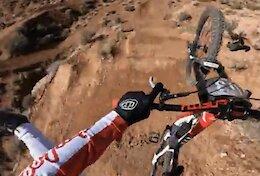 Video: Jaxson Riddle's Stylish Red Bull Rampage POV