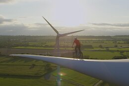 Video: Danny MacAskill Rides Across a Wind Turbine & More for the 'Climate Games'