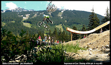 Whistler Mountain Bike Park's Inaugural Boneyard Air Affair goes to Casey Groves