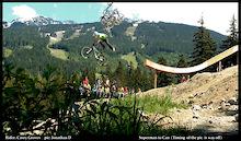 Whistler Mountain Bike Park's Inaugural Boneyard Air Affair goes to Casey Groves