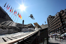 First Annual  Avoriaz Roof n' Slopestyle