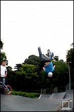 Yes it was as painful as it looks, He tried to bail but did it whilst upside down - Cubed Square Photography - Laurence CE