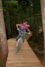 Ninja Cougar - Whistler's Newest Trail Addition!