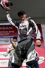 Minnaar no longer a bridesmaid, He wins Mt.Ste Anne WC Downhill