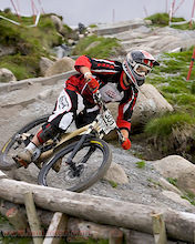 Round 4 of the Monster Energy and Halfords Bike Hut NPS Downhill at Moelfre.