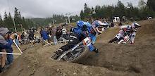 JD Swanguen wins Telus Dual Slalom at Kokanee Crankworx 2008