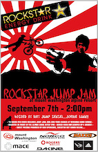 Rockstar Jump Jam on Sunday, September 7th at Mount Washington