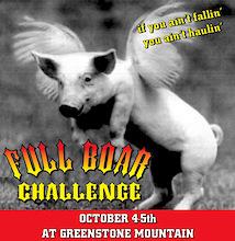 Full Boar Challenge 2008 - Kamloops B.C.