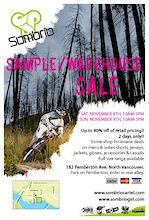 Sombrio Apparel Sample/Warehouse Sale