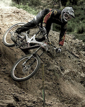 Sam Hill Testing his new Specialized bike?