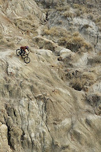 Biking the Badlands  a poem