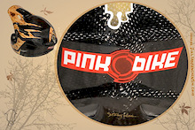 PaintHouse Custom Painting does up a Pinkbike Helmet
