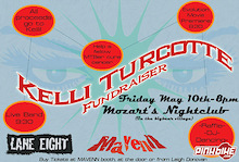 Big Bear Benefit Party for Kelly Turcotte - Tonight!