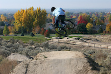 Eagle Bike Park in Idaho - Progress for 2008